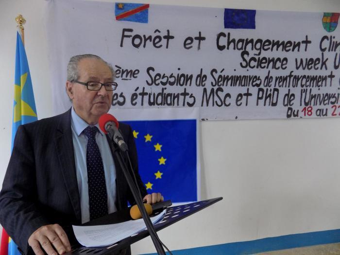 Jean-Michel Dumont, amb. UE en RDC. Ici à Kisangani.